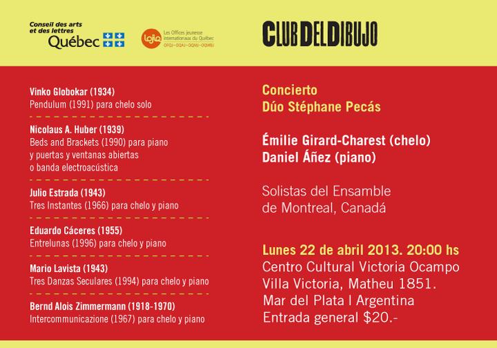 Invitación Ensamble Canada